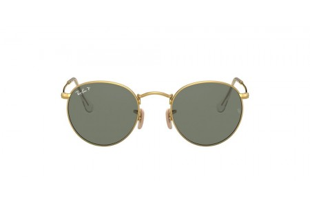 RB3447 ROUND METAL Gold/Green