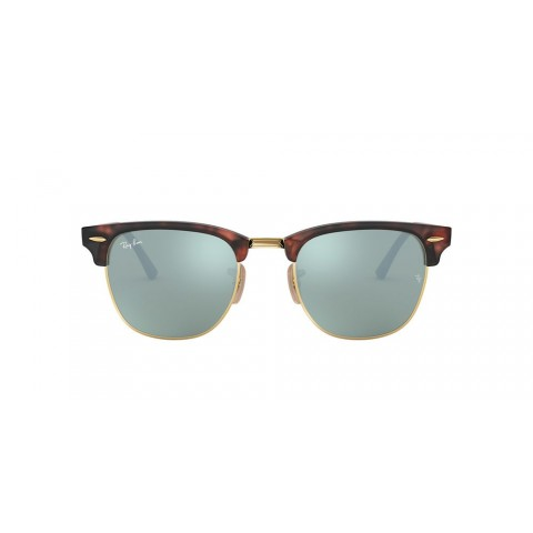 RB3016 CLUBMASTER FLASH LENSES Tortoise/Silver