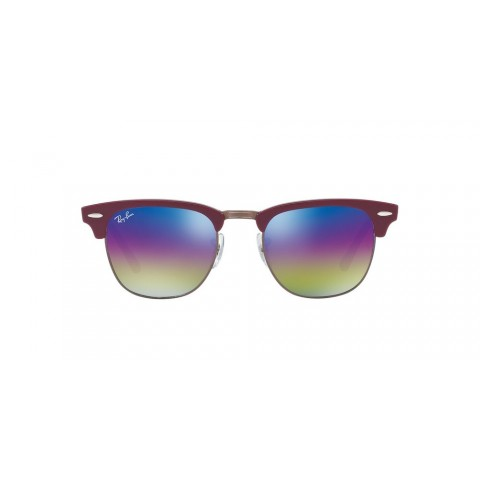 RB3016 CLUBMASTER MINERAL FLASH LENSES Red/Blue