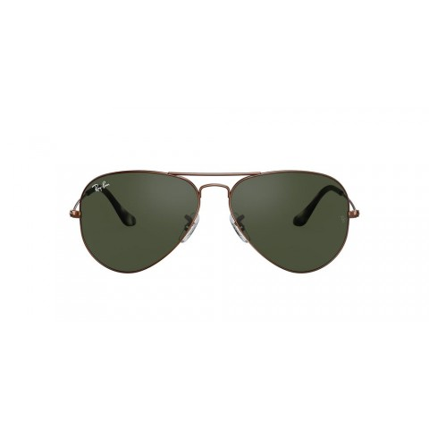 RB3025 AVIATOR CLASSIC Brown/Green