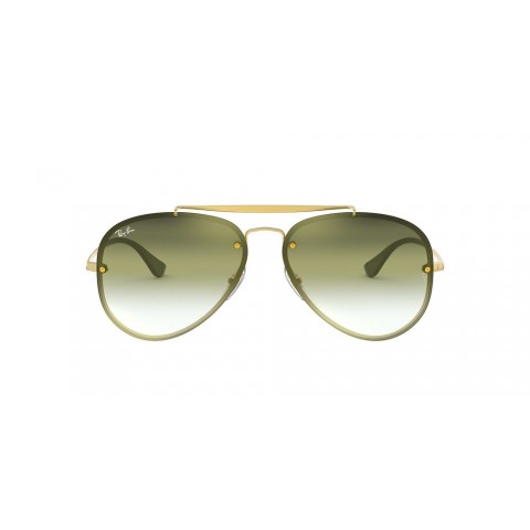 RB3584N BLAZE AVIATOR Gold/Green