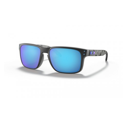 Holbrook™ Prizmatic Collection matte black prizmatic/prizm sapphire polarized